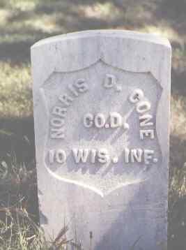 CONE, NORRIS D. - Las Animas County, Colorado | NORRIS D. CONE - Colorado Gravestone Photos