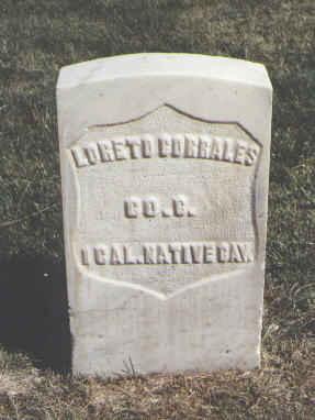 CORRALES, LORETO - Las Animas County, Colorado | LORETO CORRALES - Colorado Gravestone Photos