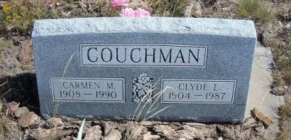 COUCHMAN, CARMEN L - Las Animas County, Colorado | CARMEN L COUCHMAN - Colorado Gravestone Photos