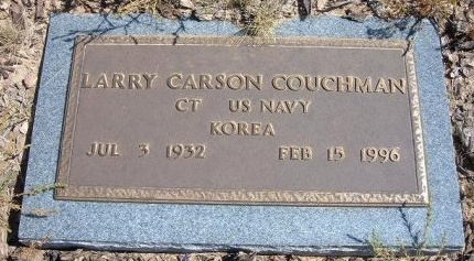COUCHMAN (VETERAN KOR), LARRY CARSON - Las Animas County, Colorado | LARRY CARSON COUCHMAN (VETERAN KOR) - Colorado Gravestone Photos