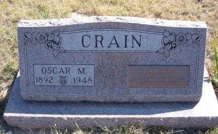 CRAIN, OSCAR MORGAN - Las Animas County, Colorado | OSCAR MORGAN CRAIN - Colorado Gravestone Photos