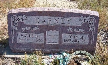 DABNEY, JOHN MAY - Las Animas County, Colorado | JOHN MAY DABNEY - Colorado Gravestone Photos