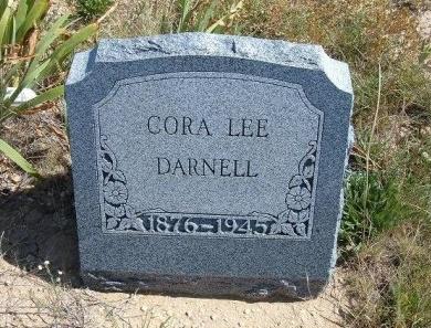 DARNELL, CORA LEE - Las Animas County, Colorado | CORA LEE DARNELL - Colorado Gravestone Photos