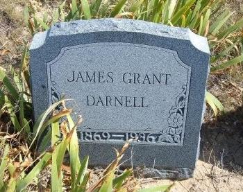 DARNELL, JAMES GRANT - Las Animas County, Colorado | JAMES GRANT DARNELL - Colorado Gravestone Photos