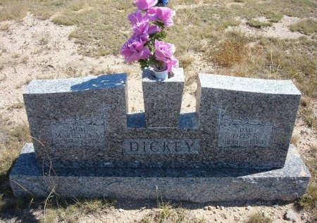 DICKEY, OTIS RAYMOND - Las Animas County, Colorado | OTIS RAYMOND DICKEY - Colorado Gravestone Photos