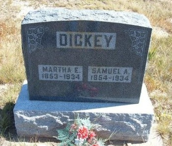 DICKEY, SAMUEL ALEXANDER - Las Animas County, Colorado | SAMUEL ALEXANDER DICKEY - Colorado Gravestone Photos