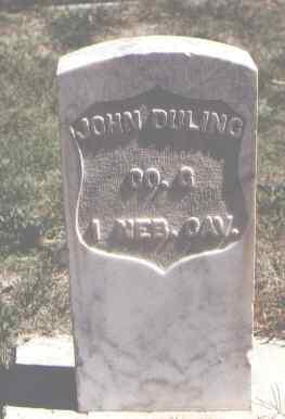 DULING, JOHN - Las Animas County, Colorado   JOHN DULING - Colorado Gravestone Photos