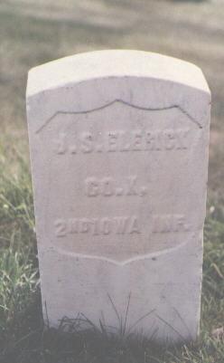 ELERICK, J. S. - Las Animas County, Colorado | J. S. ELERICK - Colorado Gravestone Photos