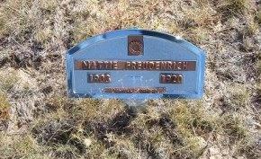 FREUDENRICH, MATTIE - Las Animas County, Colorado | MATTIE FREUDENRICH - Colorado Gravestone Photos