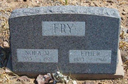 FRY, NORA - Las Animas County, Colorado   NORA FRY - Colorado Gravestone Photos