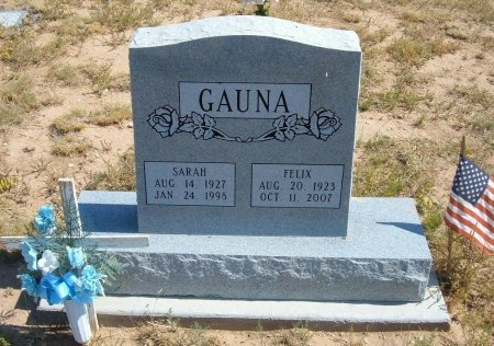 GAUNA, FELIX - Las Animas County, Colorado | FELIX GAUNA - Colorado Gravestone Photos