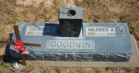 GOODWIN, MILDRED - Las Animas County, Colorado | MILDRED GOODWIN - Colorado Gravestone Photos