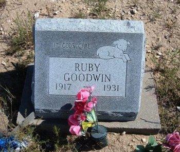 GOODWIN, RUBY - Las Animas County, Colorado | RUBY GOODWIN - Colorado Gravestone Photos