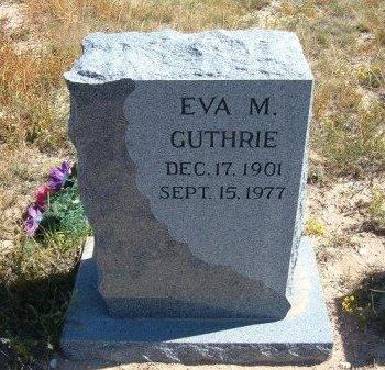 GUTHRIE, EVA MAE - Las Animas County, Colorado | EVA MAE GUTHRIE - Colorado Gravestone Photos