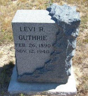 GUTHRIE, LEVI RAYMOND - Las Animas County, Colorado | LEVI RAYMOND GUTHRIE - Colorado Gravestone Photos
