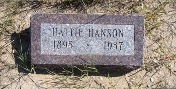 CONNELLY HANSON, HATTIE - Las Animas County, Colorado | HATTIE CONNELLY HANSON - Colorado Gravestone Photos