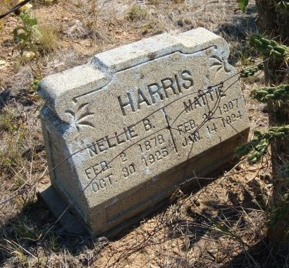 HARRIS, NELLIE B - Las Animas County, Colorado | NELLIE B HARRIS - Colorado Gravestone Photos