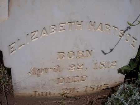 HARTSOE, ELIZABETH - Las Animas County, Colorado | ELIZABETH HARTSOE - Colorado Gravestone Photos