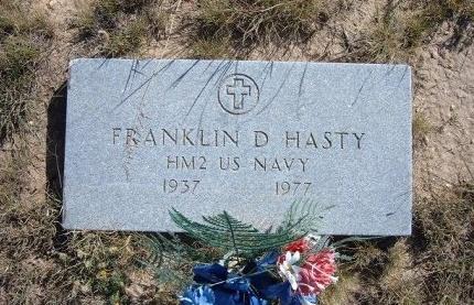 HASTY (VETERAN), FRANKLIN D - Las Animas County, Colorado   FRANKLIN D HASTY (VETERAN) - Colorado Gravestone Photos