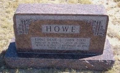 HOWE, EDDIE DEAN - Las Animas County, Colorado   EDDIE DEAN HOWE - Colorado Gravestone Photos