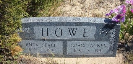 HOWE, GRACE AGNES - Las Animas County, Colorado | GRACE AGNES HOWE - Colorado Gravestone Photos