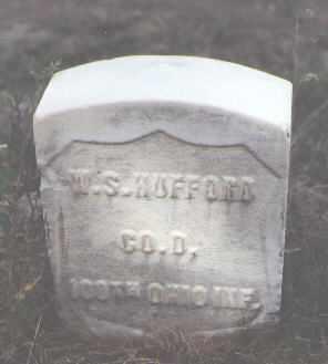 HUFFORD, W. S. - Las Animas County, Colorado | W. S. HUFFORD - Colorado Gravestone Photos