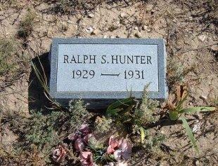 HUNTER, RALPH S - Las Animas County, Colorado   RALPH S HUNTER - Colorado Gravestone Photos