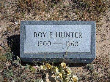 HUNTER, ROY E - Las Animas County, Colorado | ROY E HUNTER - Colorado Gravestone Photos