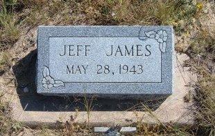 JAMES, JEFF - Las Animas County, Colorado   JEFF JAMES - Colorado Gravestone Photos