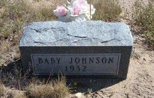 JOHNSON, BABY - Las Animas County, Colorado   BABY JOHNSON - Colorado Gravestone Photos