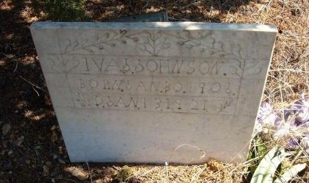 JOHNSON, IVA  - Las Animas County, Colorado | IVA  JOHNSON - Colorado Gravestone Photos