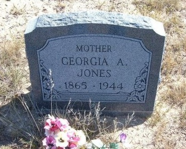 LAND JONES, GEORGIA ANNA - Las Animas County, Colorado   GEORGIA ANNA LAND JONES - Colorado Gravestone Photos