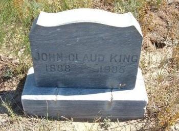 KING, JOHN CLAUD - Las Animas County, Colorado | JOHN CLAUD KING - Colorado Gravestone Photos