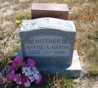 HANCOCK MARTIN, MATTIE A - Las Animas County, Colorado | MATTIE A HANCOCK MARTIN - Colorado Gravestone Photos