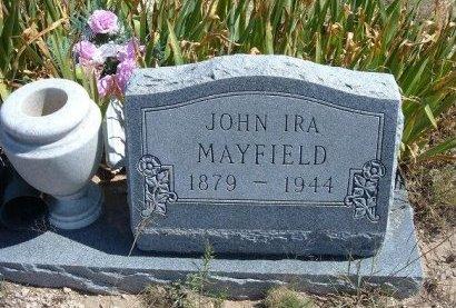MAYFIELD, JOHN IRA - Las Animas County, Colorado | JOHN IRA MAYFIELD - Colorado Gravestone Photos