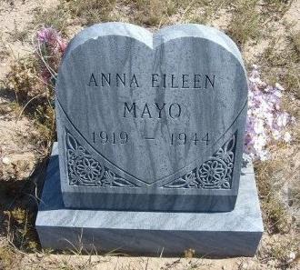 MAYFIELD MAYO, ANNA EILEEN - Las Animas County, Colorado | ANNA EILEEN MAYFIELD MAYO - Colorado Gravestone Photos