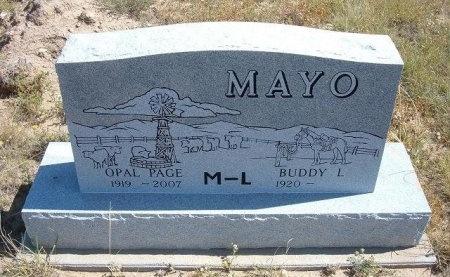 MAYO, BUDDY LAVERL - Las Animas County, Colorado | BUDDY LAVERL MAYO - Colorado Gravestone Photos