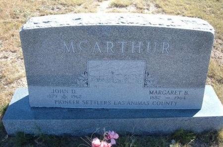 MCARTHUR, JOHN D - Las Animas County, Colorado | JOHN D MCARTHUR - Colorado Gravestone Photos