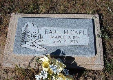 MCCARL, EARL - Las Animas County, Colorado   EARL MCCARL - Colorado Gravestone Photos
