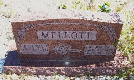 MELLOTT, GEORGE WALTER - Las Animas County, Colorado | GEORGE WALTER MELLOTT - Colorado Gravestone Photos