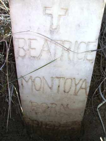 MONTOYA, BEATRICE - Las Animas County, Colorado | BEATRICE MONTOYA - Colorado Gravestone Photos