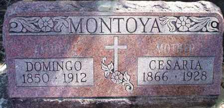 MONTOYA, DOMINGO - Las Animas County, Colorado | DOMINGO MONTOYA - Colorado Gravestone Photos