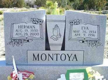 MONTOYA, EVA - Las Animas County, Colorado | EVA MONTOYA - Colorado Gravestone Photos