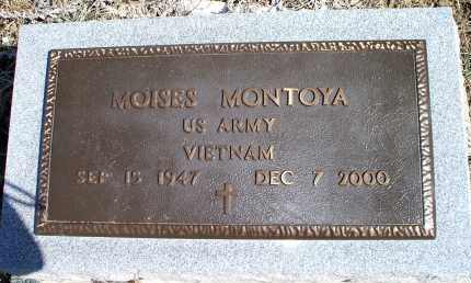 MONTOYA, MOISES - Las Animas County, Colorado | MOISES MONTOYA - Colorado Gravestone Photos