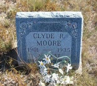 MOORE, CLYDE R - Las Animas County, Colorado | CLYDE R MOORE - Colorado Gravestone Photos