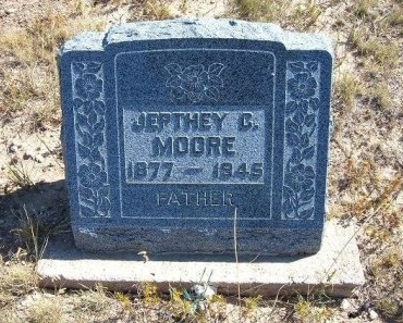MOORE, JEPTHEY C - Las Animas County, Colorado | JEPTHEY C MOORE - Colorado Gravestone Photos