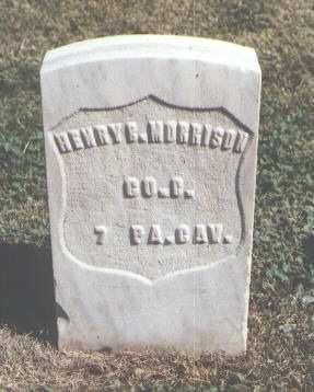 MORRISON, HENRY B. - Las Animas County, Colorado | HENRY B. MORRISON - Colorado Gravestone Photos