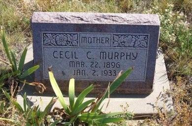 MURPHY, CECIL C - Las Animas County, Colorado | CECIL C MURPHY - Colorado Gravestone Photos