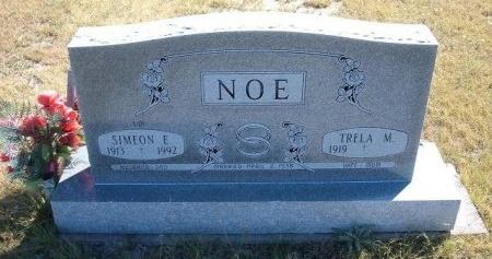 NOE, SIMEON E - Las Animas County, Colorado   SIMEON E NOE - Colorado Gravestone Photos