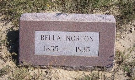 NORTON, BELLA - Las Animas County, Colorado | BELLA NORTON - Colorado Gravestone Photos